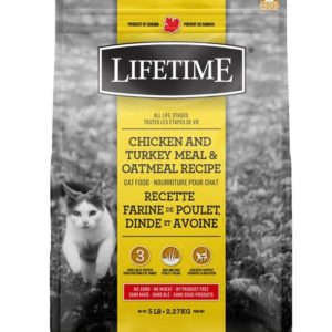 Lifetime Chicken Turkey Oatmeal Cat Food
