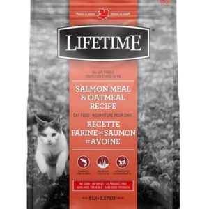 Lifetime Salmon Oatmeal Cat Food