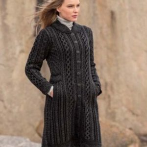 X4791 Leitrim Long Button Coat